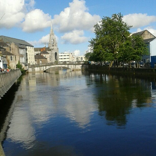 Sunny Cork ^_^  (Taken with Instagram at Grand Parade Boardwalk)