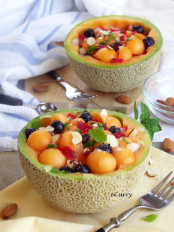 Melon Fruit Bowl  by Soma.R on Flickr.
