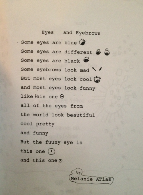smokepussy:  windows98:  a poem i wrote in 1st grade  Love it