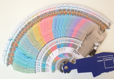 Diamond Jubilee Pantone colour guide