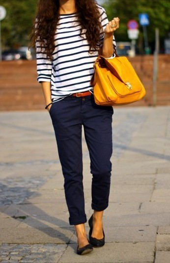Casual nautical.