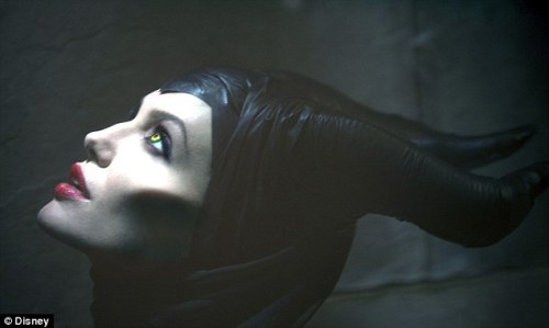 Angelina Jolie as Maleficent in upcoming Sleeping Beauty