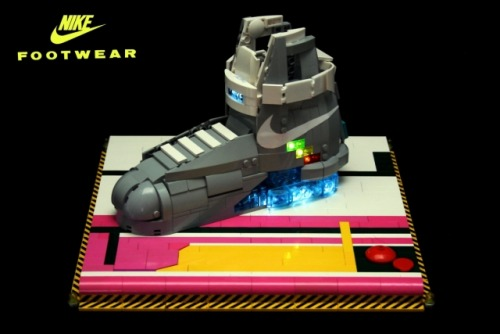 NIKE MAG BTTF  I would have bought one if i would have had the money. But it didn´t stop me to build the famous NIKE MAG from BACK TO THE FUTURE.