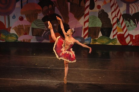 Natalia Johnson as The Sugar Plum Fairy in The Nutcracker