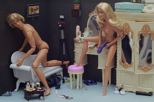 Even Barbie and Ken are at it!