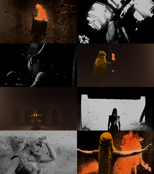 I will take what is mine with fire and blood.