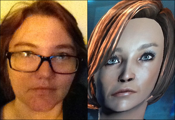 "Liz Tells Frank What Happened In ""Mass Effect 2"". In which I maybe, just maybe, figure this whole ""video game"" thing out."