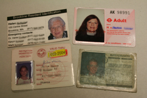 Lost Identification Cards
