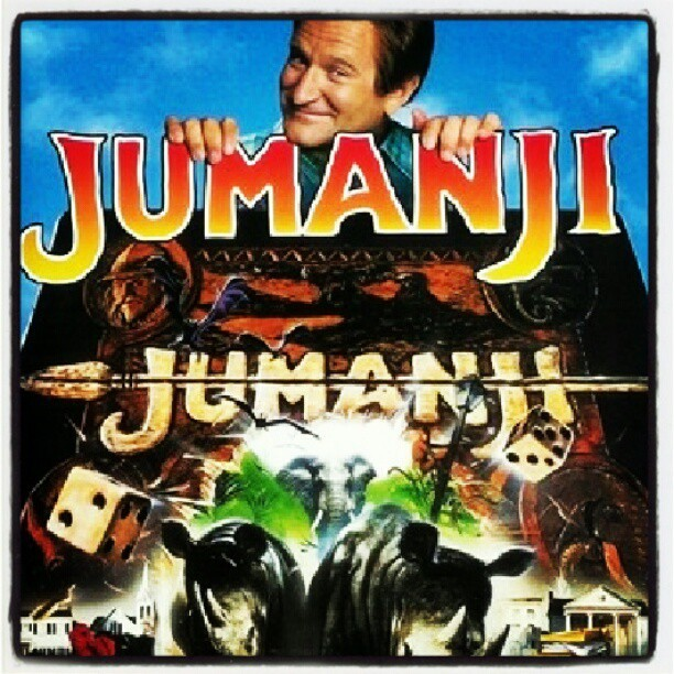 Watching Jumanji <3 (: (Taken with Instagram)