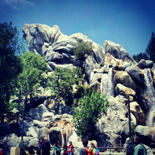 The waterfall is back! >.< (Taken with Instagram)