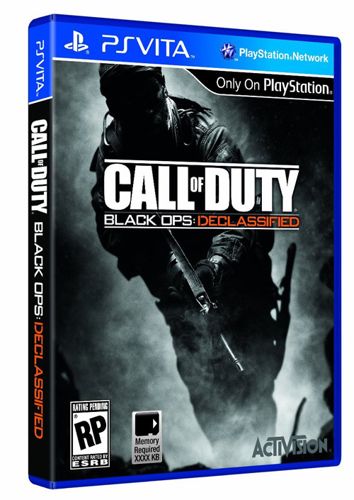 First Call of Duty: Black Ops Declassified Details What Sony didn't do at E3, Walmart is with the first details on Black Ops for the PS Vita.  Before the future could be won, history had to be written. Exposing that story exclusively on PlayStation Vita, Call of Duty: Black Ops Declassified explores original fiction in the Call of Duty Black Ops universe with an all-new campaign of Special Ops missions. Optimized for gamers on-the-go, Call of Duty Black Ops: Declassified delivers the most intense handheld Call of Duty experience to date, including both Special Ops Story mode and Multiplayer combat tailored for the PS Vita.