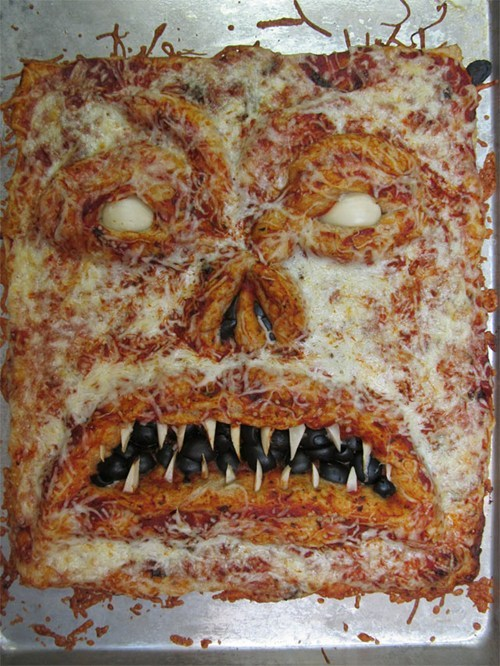 theclearlydope:  Come at me pizza monster bro.    [image: nerdcore]   Lord!