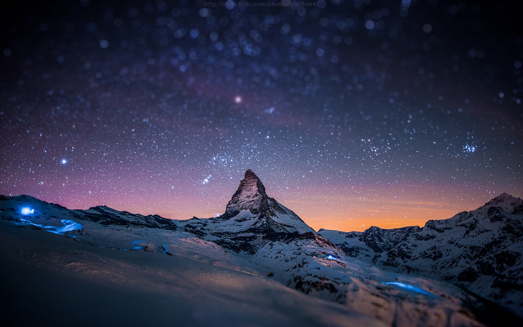 definitelydope:  miniature Matterhorn (by CoolbieRe)