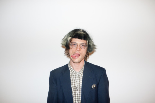 terrysdiary:  Matthew Gray Gubler at my studio #1