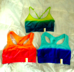 Just got some ombré workout gear for operation get fit :) from target today.
