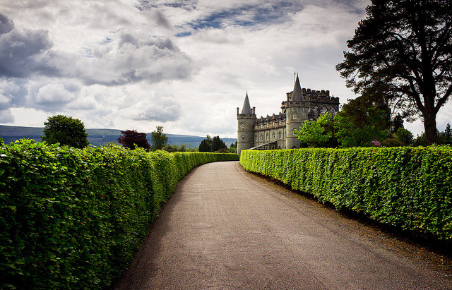 travelthisworld:  Inverary Castle, Scotland  I would love to visit Scotland!