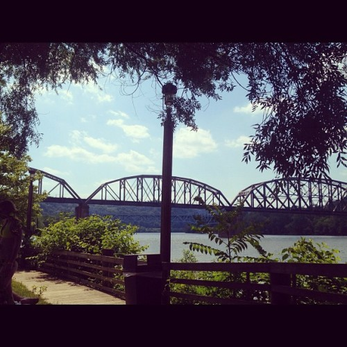 Taken with Instagram at Somewhere on the Mon River