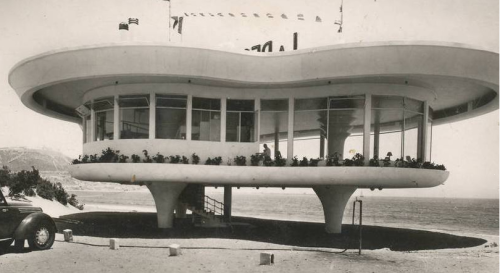 midcenturymodernfreak:  Beachfront Restaurant (demolished) c. 1950s | Morocco