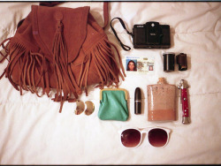What's In My Bag Pt.II by malinda fisher on Flickr.