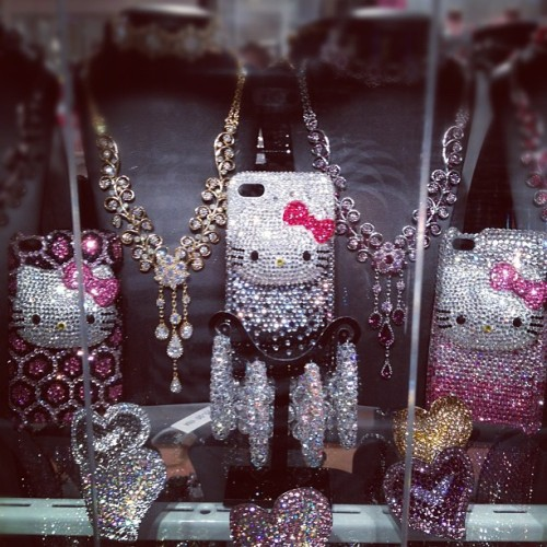 #hellokitty #bling (Taken with Instagram)