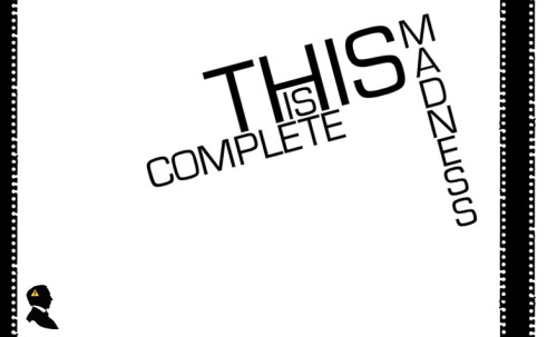 "I created  ""This Is Complete Madness'"" logo and background for his theme! Check it out: http://this-is-complete-madness.tumblr.com/"