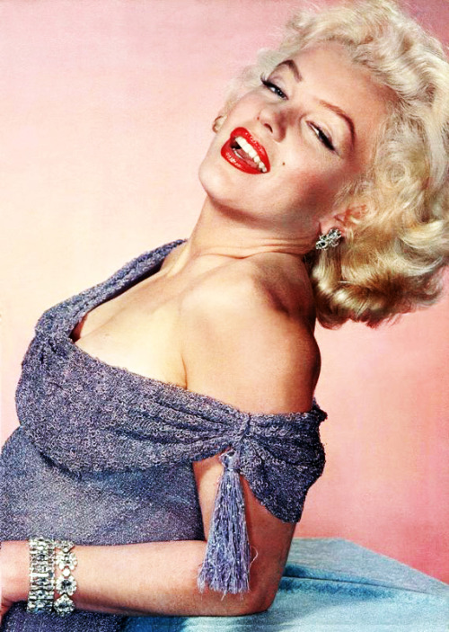 Marilyn Monroe photographed by Carlyle Blackwell Jr., 1953