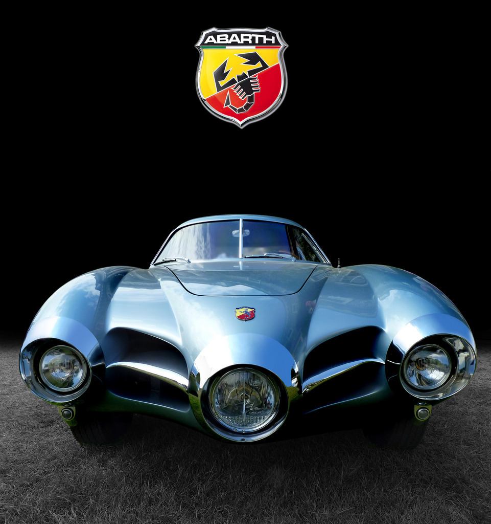 itcars:  Abarth 1500 Biposto (via Gordon Calder)  Rocket ship..