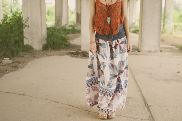 LOVE this skirt! wattlebirdblog:  Prairie Skirt DIY via Sincerely Kinsey