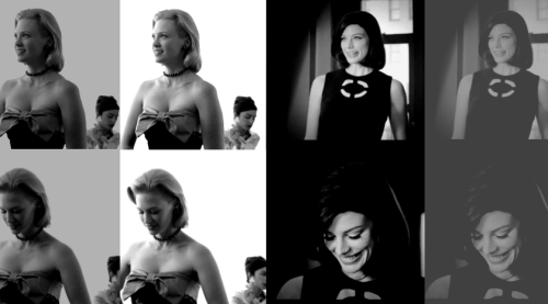 "Are you a Jackie or a Marilyn?""Two Sides of the Same Woman."""