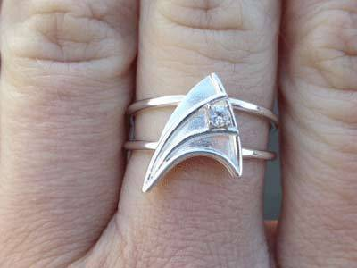 The Nerdiest Engagement Ring Ever.