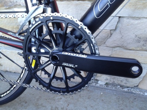 chirosangaku:  New 484g Hollowgram SiSL Crankset from Cannondale w/ One Piece Chainrings! - Bike Rumor