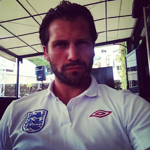 Come on England ! (Taken with Instagram)