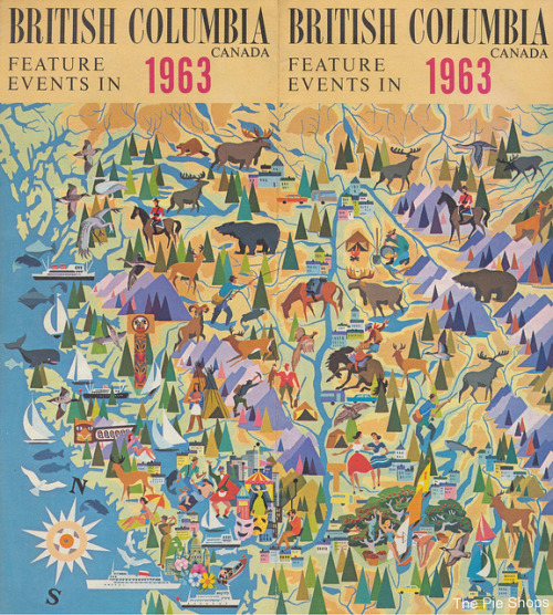 watchingthewheeels:  British Columbia Feature Events in 1963 by The Pie Shops on Flickr.