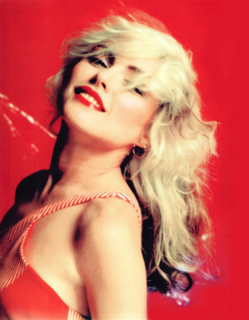 Debbie Harry photographed by Mick Rock, 1978