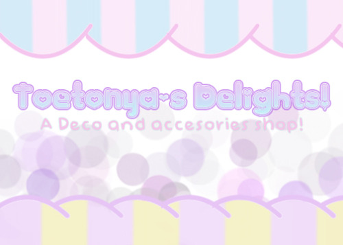 new banner! :D shop will be opened soon