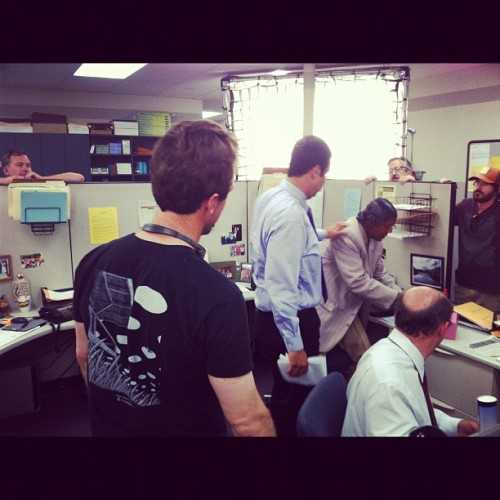 "Back in ""The Other Cubicle""… #workaholics #theOtherCubicle #Montez #JetSet (Taken with Instagram)"