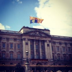 Buckingham Palace is beautiful