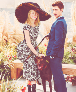 Emma Stone & Andrew Garfield // Teen Vogue Photoshoot