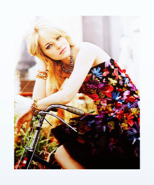 Emma Stone for Teen Vogue