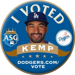Endless support for my boy Matt Kemp, #27!