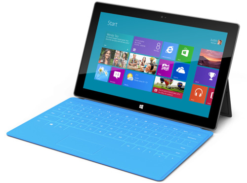 Microsoft's first tablet - The Surface