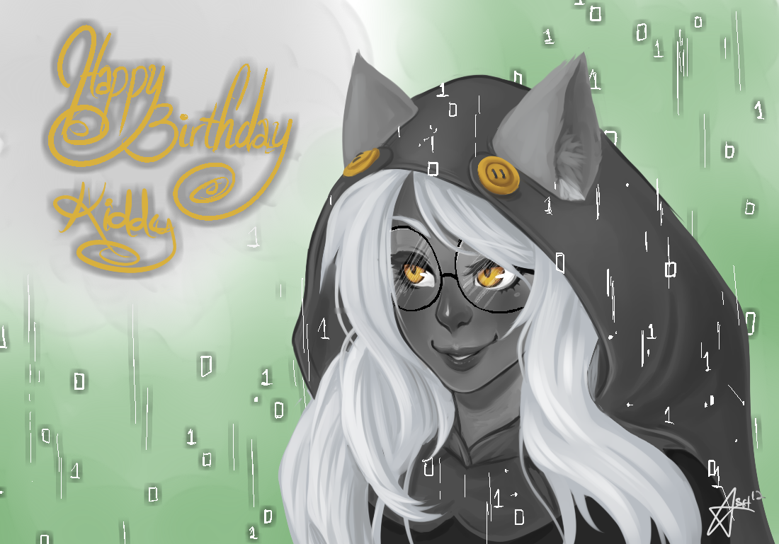 starexorcist:  HAPPY BIRTHDAY DUMBBUTT  Ashe