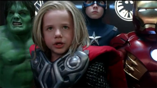 geekquality:  The Avengers, Commercials, and the Gendering of Children's Toys Inspired by a Target commercial for new promo toys for The Avengers, guest blogger Nicole Wander talks about gendered marketing of toys. Read her fantastic post on our site!