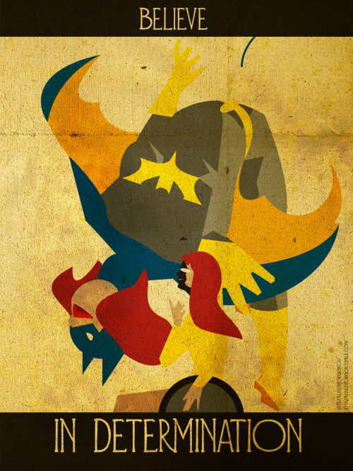 """Believe"" series: Keeping Heroes iconic but positive. Presenting….Batgirl/Oracle! A true dynamic character. I was humming her tune from the animated series while I did this. I am the night! Kerrith My Tumblr