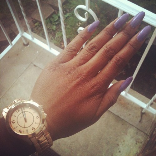 emanimone:  Purple and gold est 3012 (Taken with Instagram)