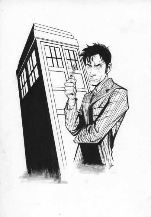 Dr Who sketch
