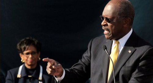 Herman Cain Endorses Who Gives A Fuck