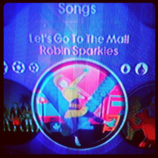 On the wii && look what song i found! Gotta <3 himym! (:  (Taken with Instagram)