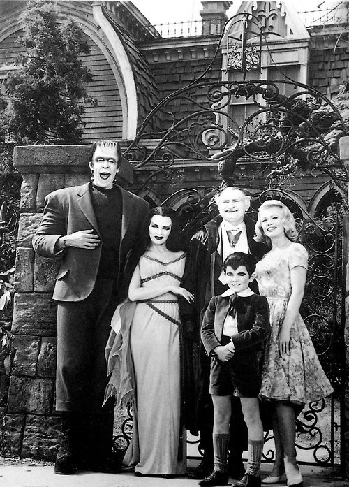 myteenageriot:  the munsters