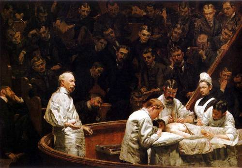 The Agnew Clinic, Thomas Eakins,1889